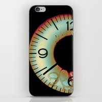 Time Waits For Nobody iPhone & iPod Skin