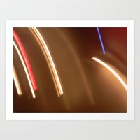 Light Lines. Art Print