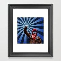 Stand Up Framed Art Print