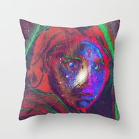 afegani Throw Pillow