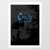 Harry Potter Curses: Cru… Art Print