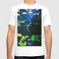 Underwater Paradise Mens Fitted Tee White SMALL