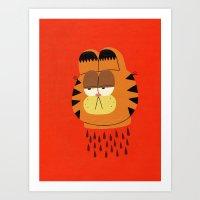 Garfield Art Print