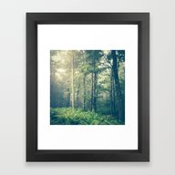 Framed Art Print featuring Inner Peace by Olivia Joy StClaire