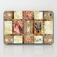 Quilted African Life. iPad Case