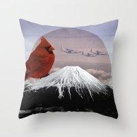 Mountain Song Throw Pillow