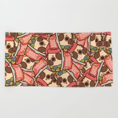 Puglie Poot Loops Beach Towel