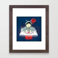 Creative Blank Framed Art Print