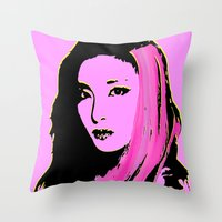 Sandara Park (Dara - 2NE… Throw Pillow