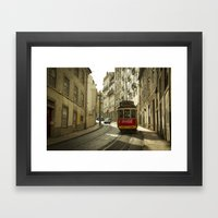 Cola Tram  Framed Art Print