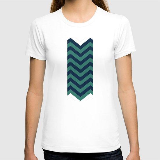 3D in Ocean Tones T-shirt