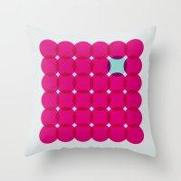 In Circles Throw Pillow