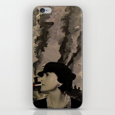 Mademoiselle Coco iPhone & iPod Skin