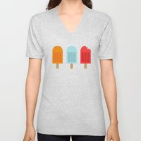Ice Lollies Unisex V-Neck