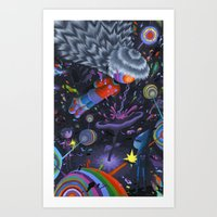 Node in the Noosphere Art Print