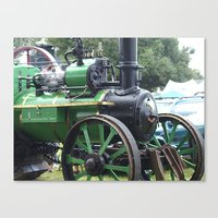 Steam Power 2 - Tractor Canvas Print