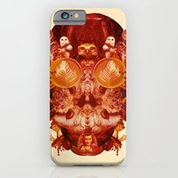 iPhone & iPod Case featuring Coffee & Owls & Death by Lupo Manaro