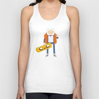 Marty McFinn & Jake the Hoverboard Unisex Tank Top