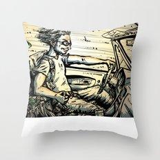 Run for the Border! Throw Pillow