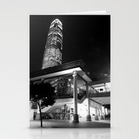 Central Pier [Black & White] Stationery Cards