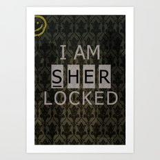 Sherlocked Art Print