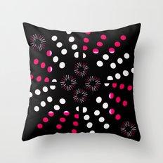 Bursts Galore Throw Pillow