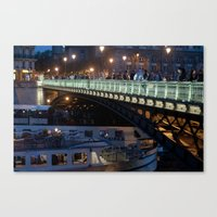 Paris By Night III Canvas Print
