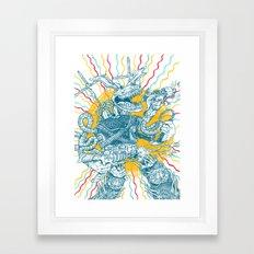 Blitzkrieg Hop Framed Art Print