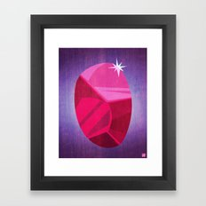 My Ruby Framed Art Print