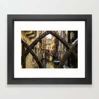 Through the Gate Framed Art Print