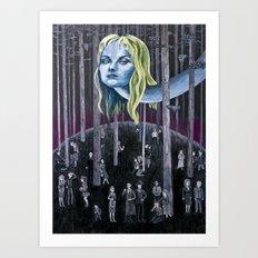 Who Killed Laura Palmer? ( Twin Peaks ) Art Print