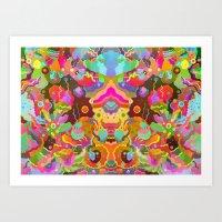 Parascape Art Print