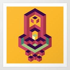 Geo 03 Art Print