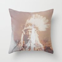 Native Life Throw Pillow