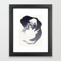 yinyang Framed Art Print