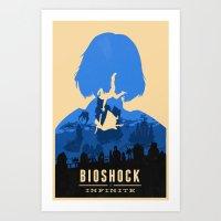 Bioshock Infinite Elizab… Art Print