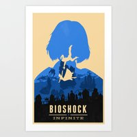 Bioshock Infinite Elizabeth Art Print