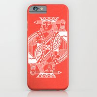 iPhone & iPod Case featuring Creativity Is King by Chase Kunz