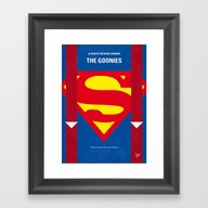 No456 My The Goonies Min… Framed Art Print