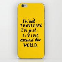 Living Around The World iPhone & iPod Skin
