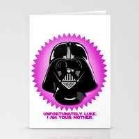 Luke, I am your mother Stationery Cards