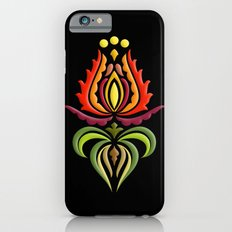 Fancy Mantle on Black iPhone 6 Slim Case