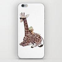 Niall And His Giraffe iPhone & iPod Skin