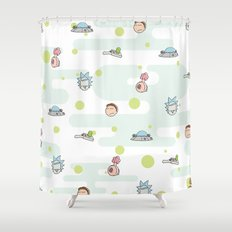 Rictsy Print Shower Curtain