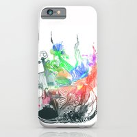 iPhone & iPod Case featuring Fiddle by MARIA BOZINA - PRINT