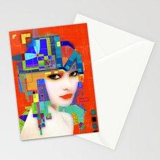 Nouveau Girl 2 Stationery Cards
