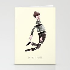 falling to pieces Stationery Cards