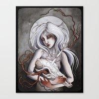 Bereavement Canvas Print