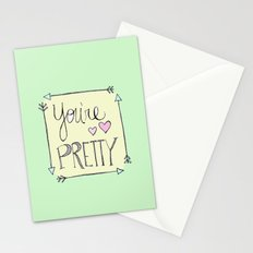 You're Pretty Stationery Cards