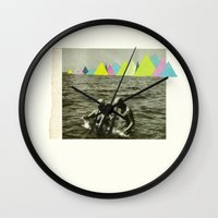 Holiday in the Mountains Wall Clock